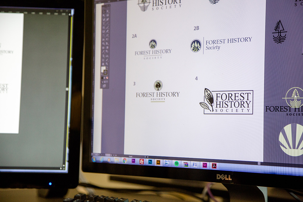 Forest History Society logo design by Kompleks Creative.