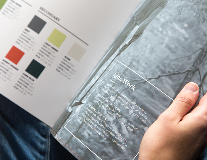 Forest History Society style guide developed by Kompleks Creative.