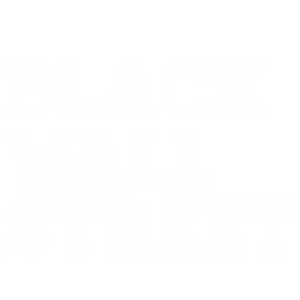Black Wall Street logo designed by Kompleks Creative.
